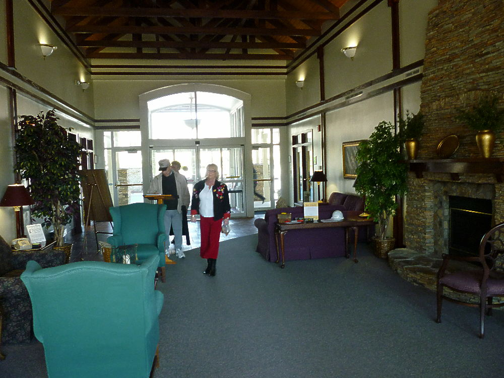 Cobb senior centers ? this one is the lobby of the West Cobb GA active adult ...