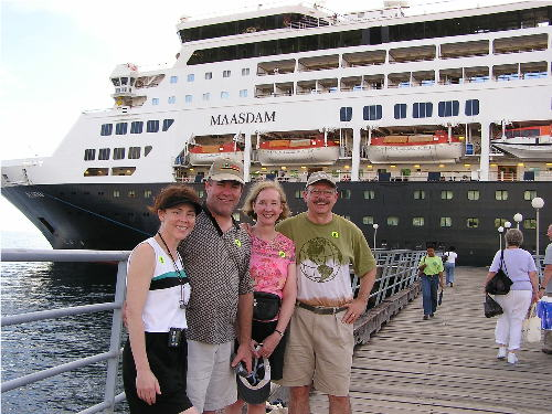baby boomers on Holland America cruise