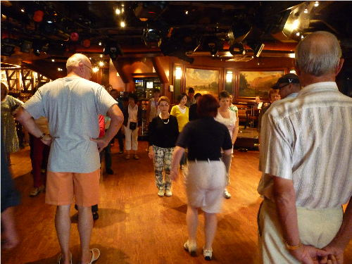 dance lessons on cruise ship