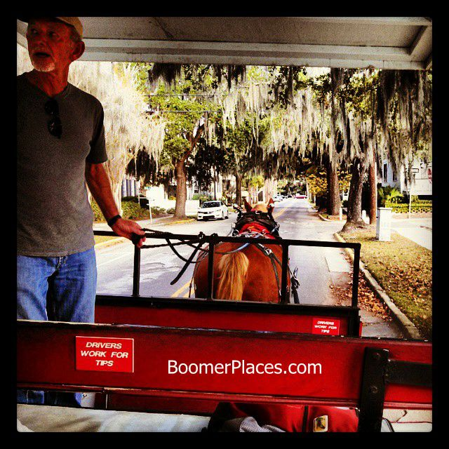 Beaufort carriage tour