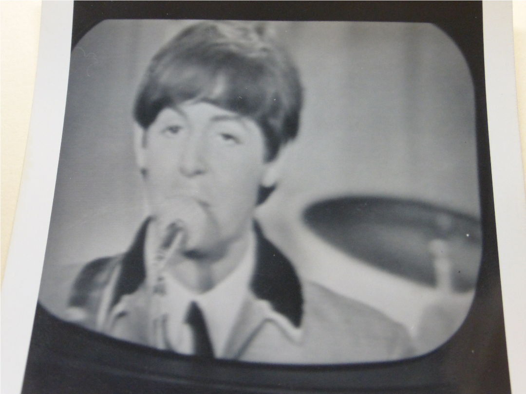 Paul McCartney on ed sullivan