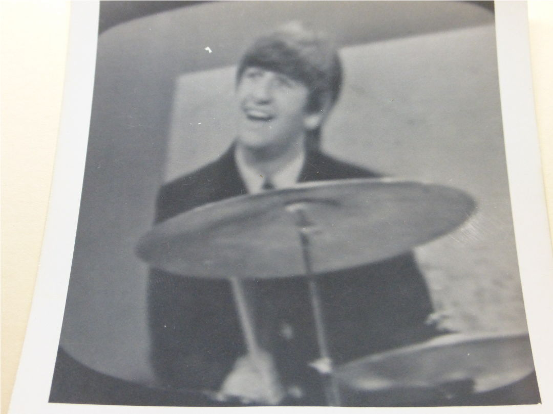 Ringo Starr on the Ed Sullivan Show