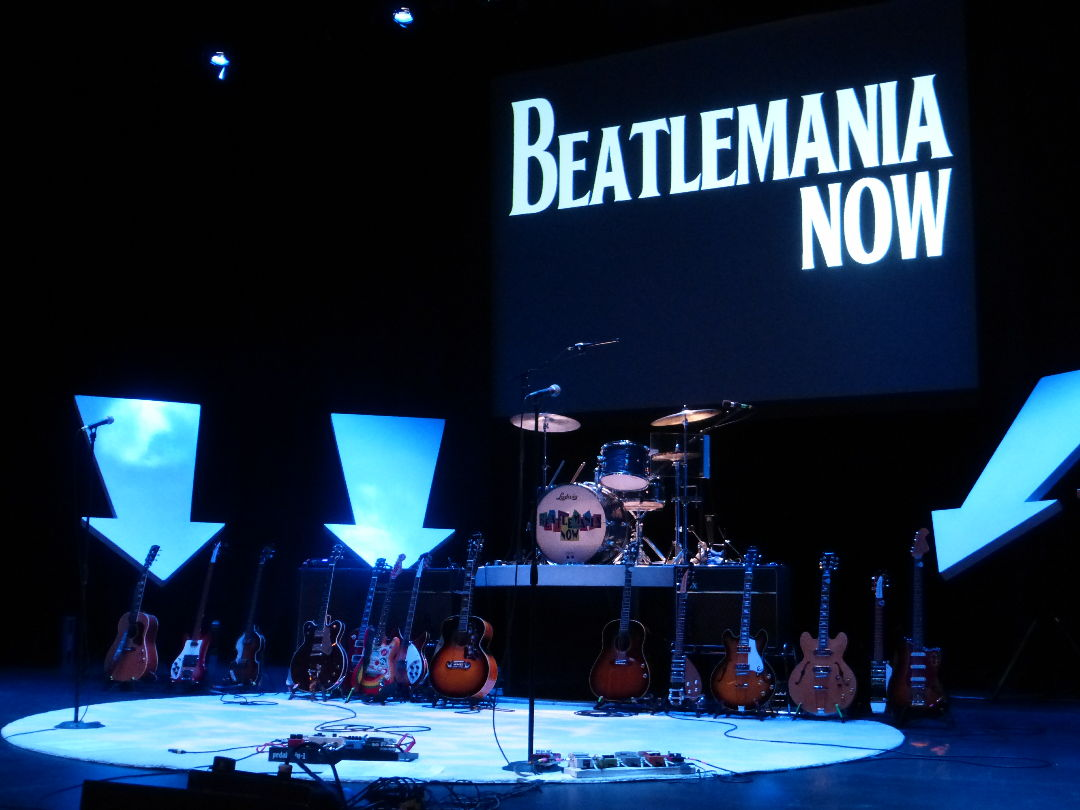 The Beatles tribute band concert