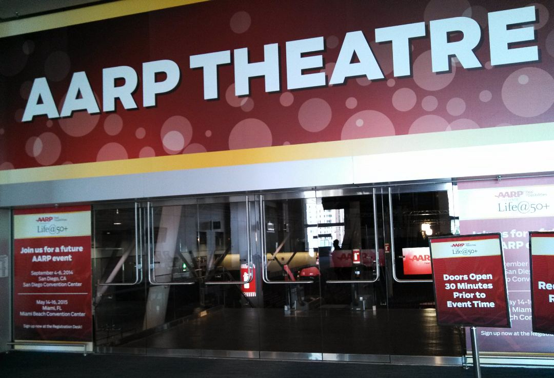 AARP Theatre had several boomer movies screenings