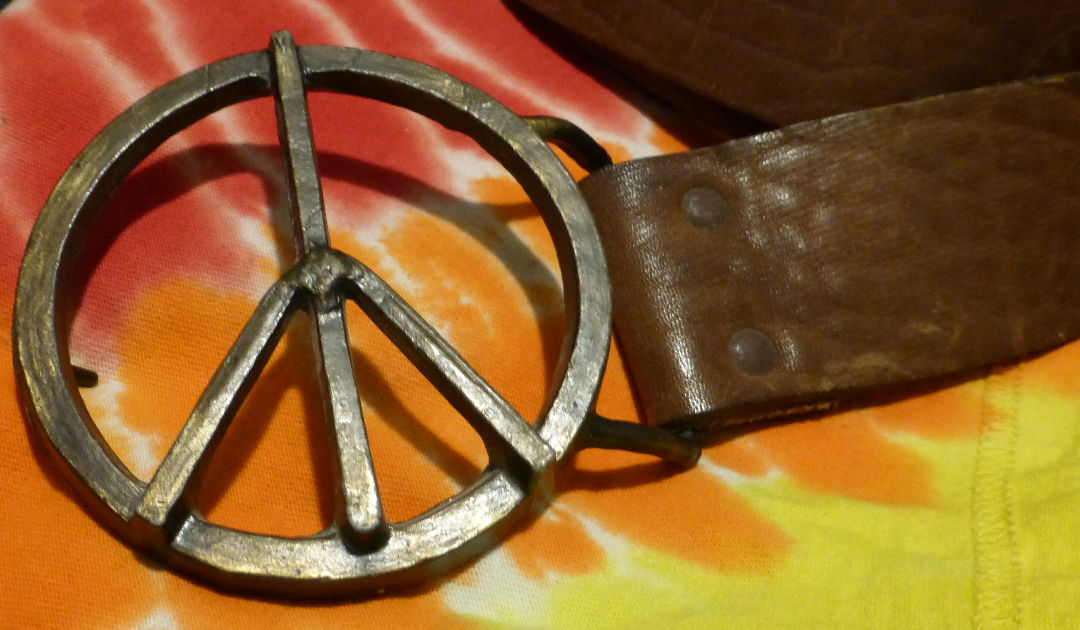 Boomers Peace Sign