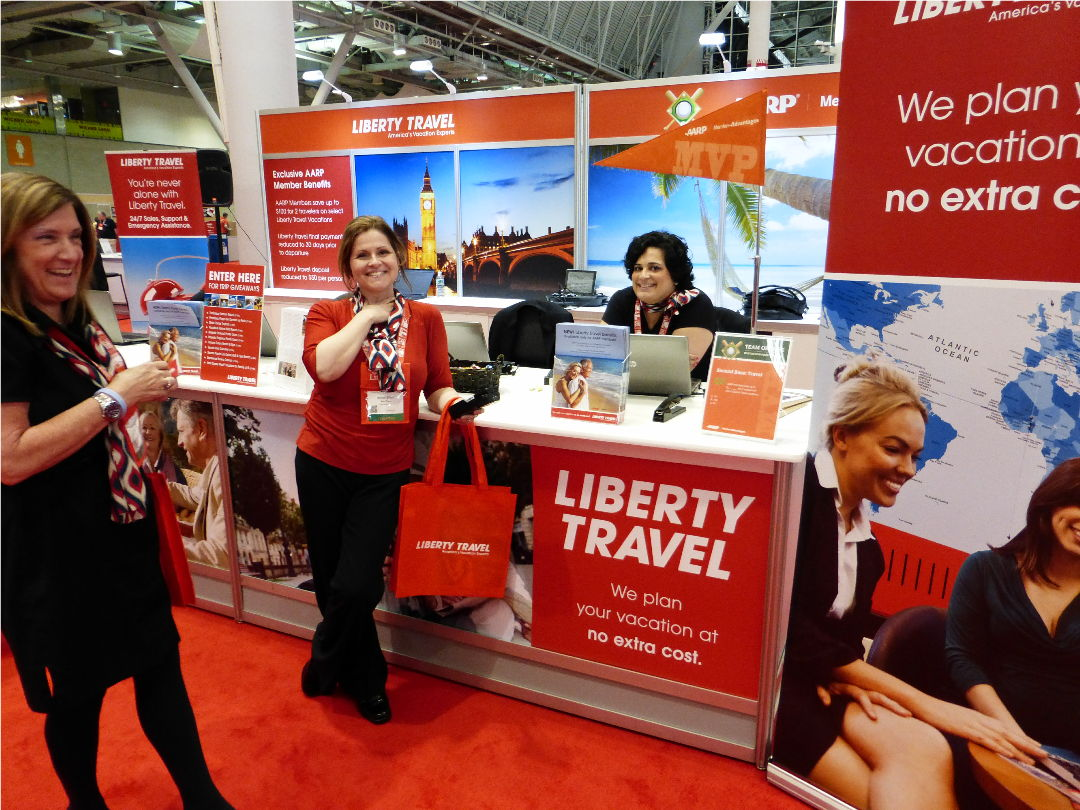 Liberty Travel was a fun and informative stop. They are a full personal service travel agent.