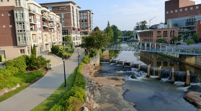 Greenville SC - Reedy River