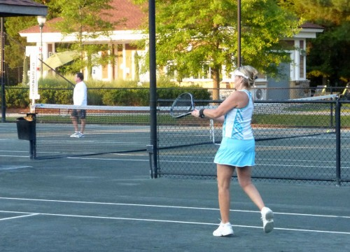 Tennis at Sun City Carolina Lakes
