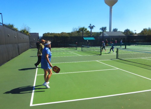 Pickellball in The Villages