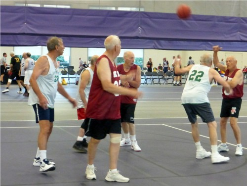 basketball at national senior games