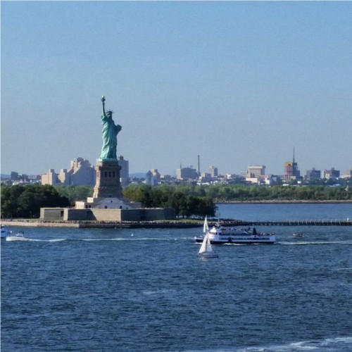 Statue of Liberty from Celebrity Summit