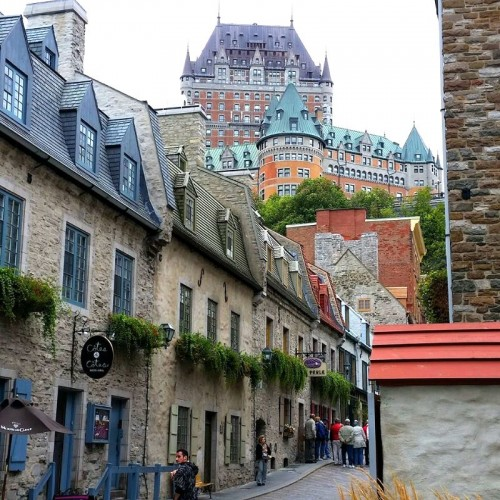 Frontenac in Quebec City